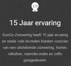 sungo-zonwering - horren